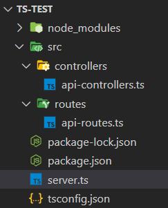 TypeScript Express